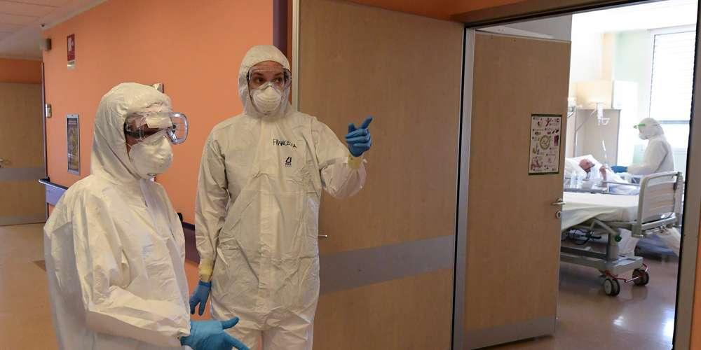 Coronavirus : Le nombre des morts en baisse en Italie