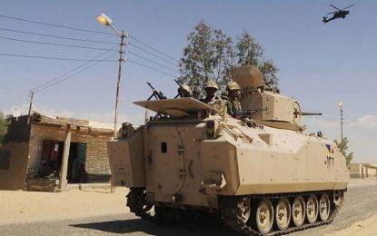 Sinaï : Les forces armées égyptiennes rapportent avoir déjoué une attaque djihadiste