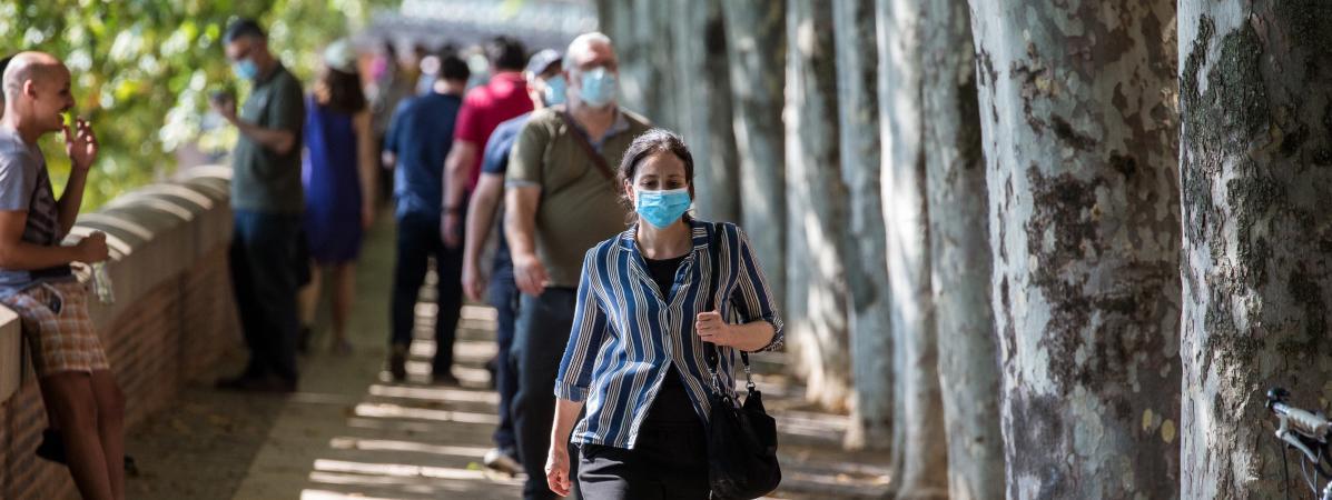 La circulation du virus s'accélère en France