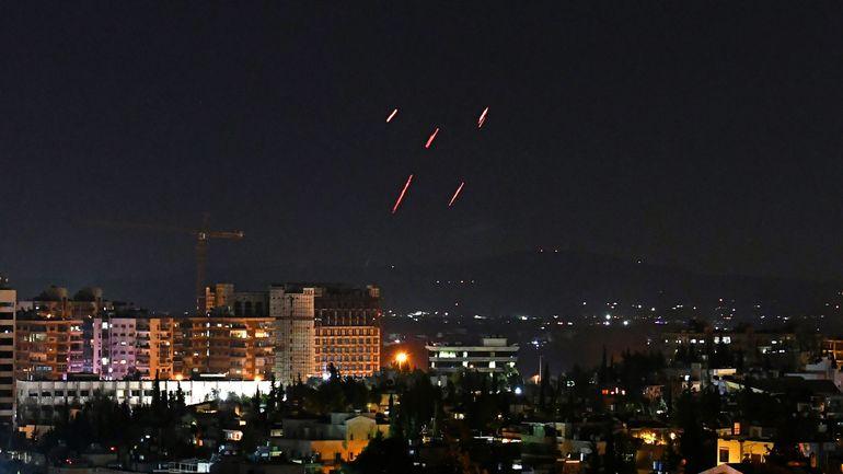 Israël revendique des attaques contre des positions des forces du régime syrien