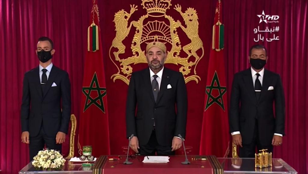 Le Roi Mohammed VI évoque un retour éventuel à un confinement total au Maroc