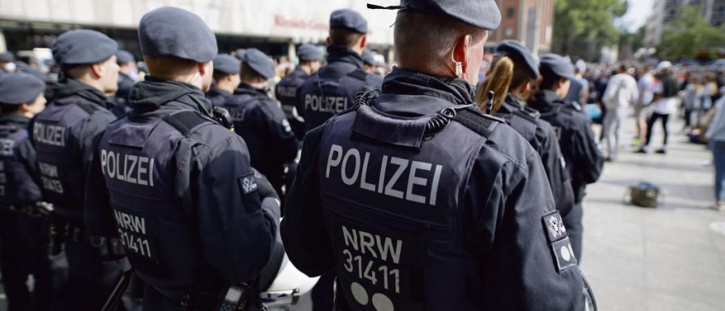 La police allemande encore éclaboussée par un scandale en lien avec l'extrême droite