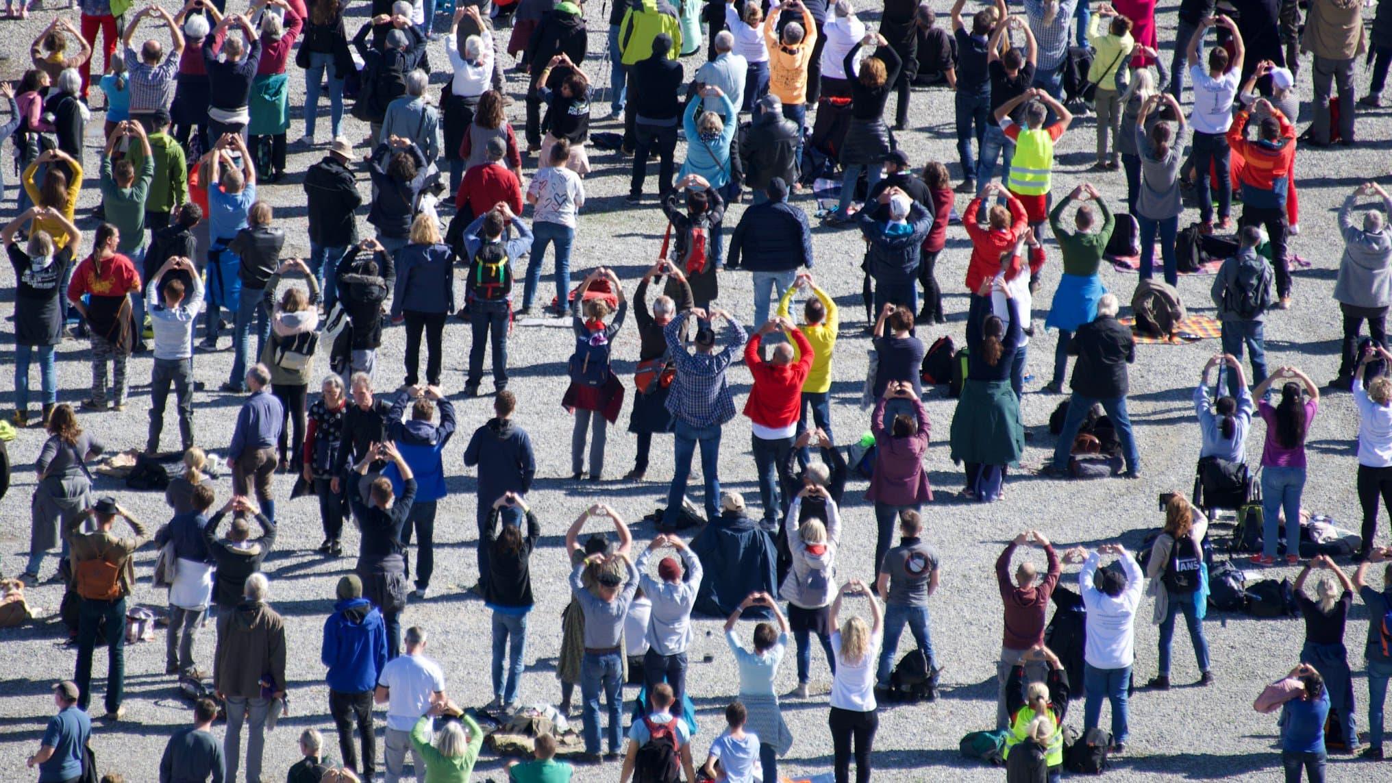 Covid-19 : Nouveau rassemblement des protestataires «anti-masques» en Allemagne