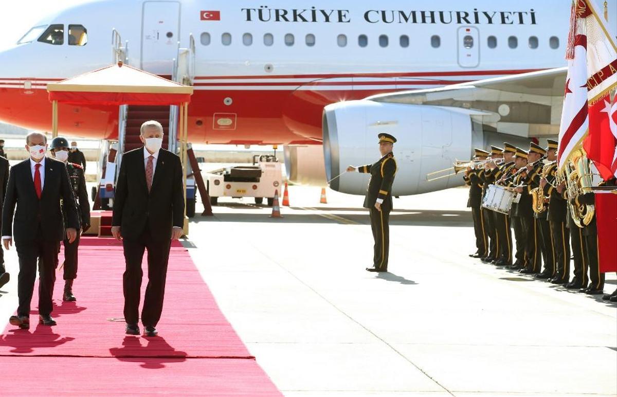 A Chypre-Nord : Le président turc plaide pour un dialogue sur la base de deux Etats séparés