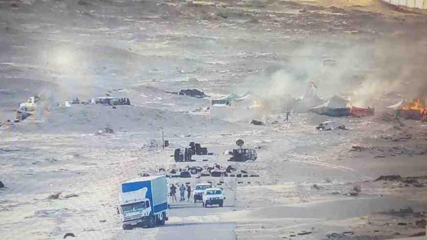 Sahara: L'armée marocaine déloge le polisario de la zone de Guerguarate