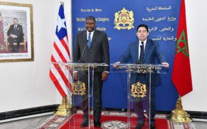 Sahara: La vague de solidarité avec le Maroc se poursuit avec le soutien du Libéria