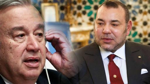 Sahara- ONU: Entretien téléphonique entre le Roi Mohammed VI et Antonio Guterres