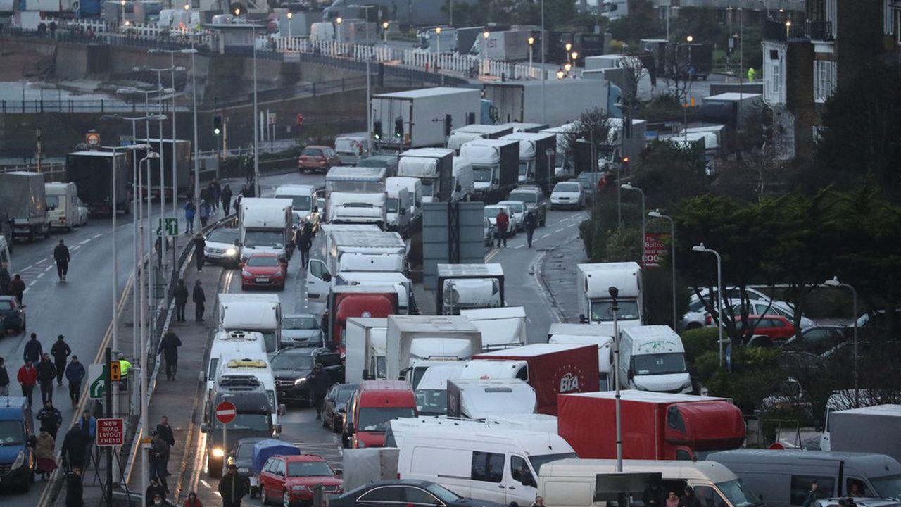 Reprise timide du trafic entre le Royaume-Uni et la France
