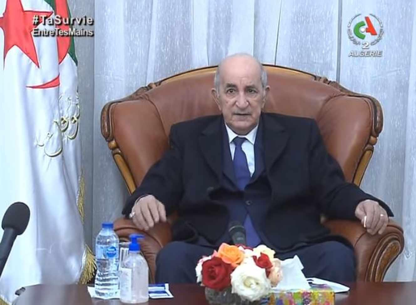 Le président Tebboune enfin de retour en Algérie