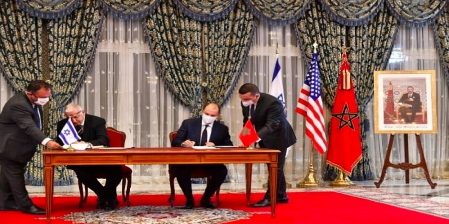 Signature à Rabat de quatre accords de coopération entre le Maroc et Israël