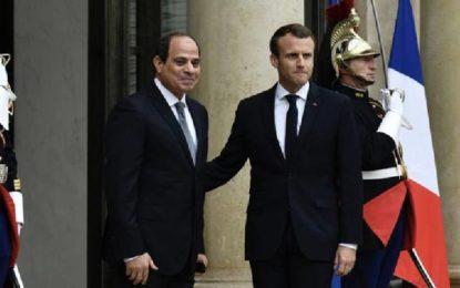 Le président égyptien Abdel Fattah al-Sissi en visite officielle en France