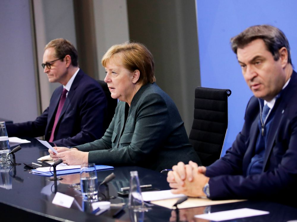 Coronavirus : L'Allemagne restera confinée jusqu'en mi-février