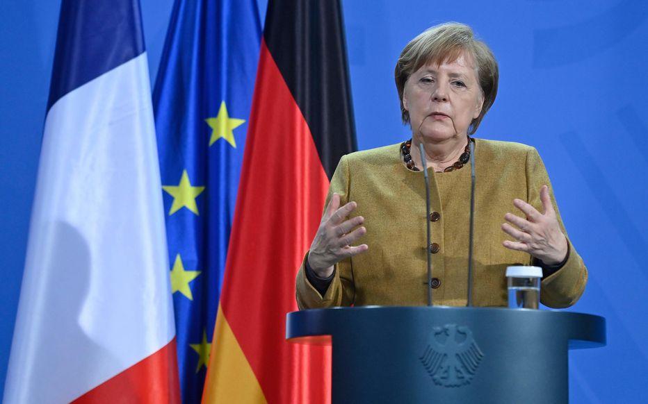 Coronavirus : La chancelière allemande prône une prolongation des restrictions jusqu'en mars