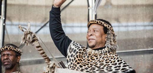 L'Afrique du Sud rend hommage au vénéré roi des Zoulous