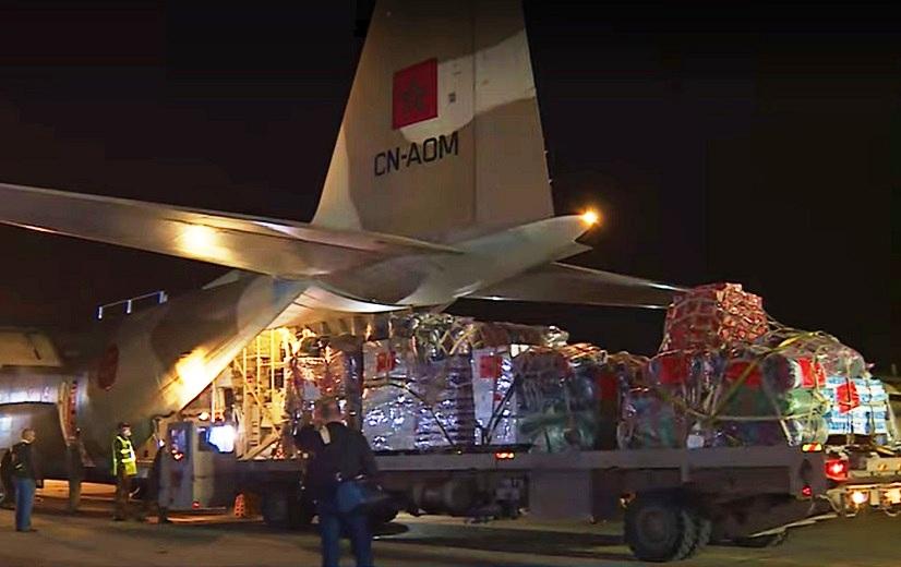 Le Maroc a porté de 40 à 60 tonnes l'aide décidée par le Roi Mohammed Vi au profit des Palestiniens