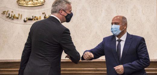 La France finance plusieurs projets en Egypte