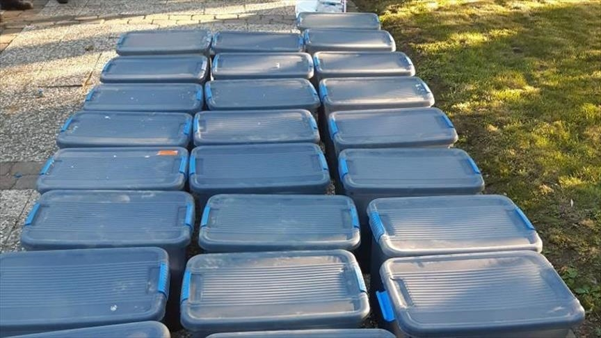 Saisie aux Pays-Bas de trois tonnes de cocaïne