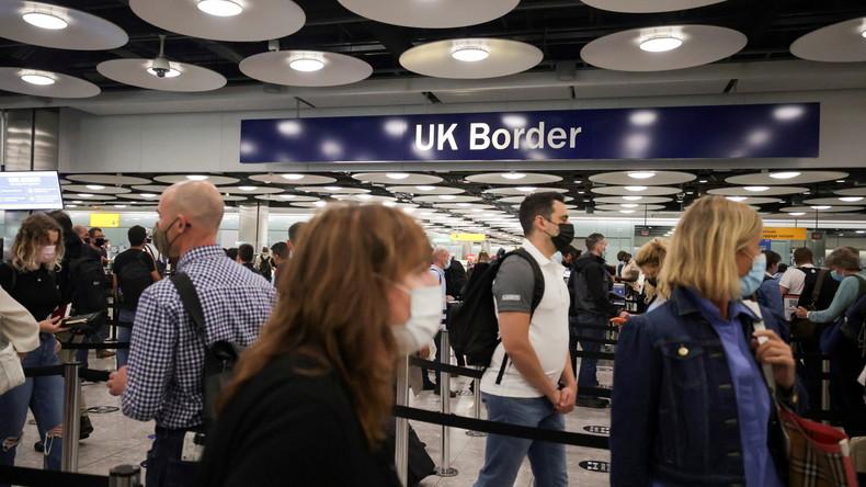 Covid-19 : Londres lève la quarantaine obligatoire pour les voyageurs entièrement vaccinés en provenance de France métropolitaine