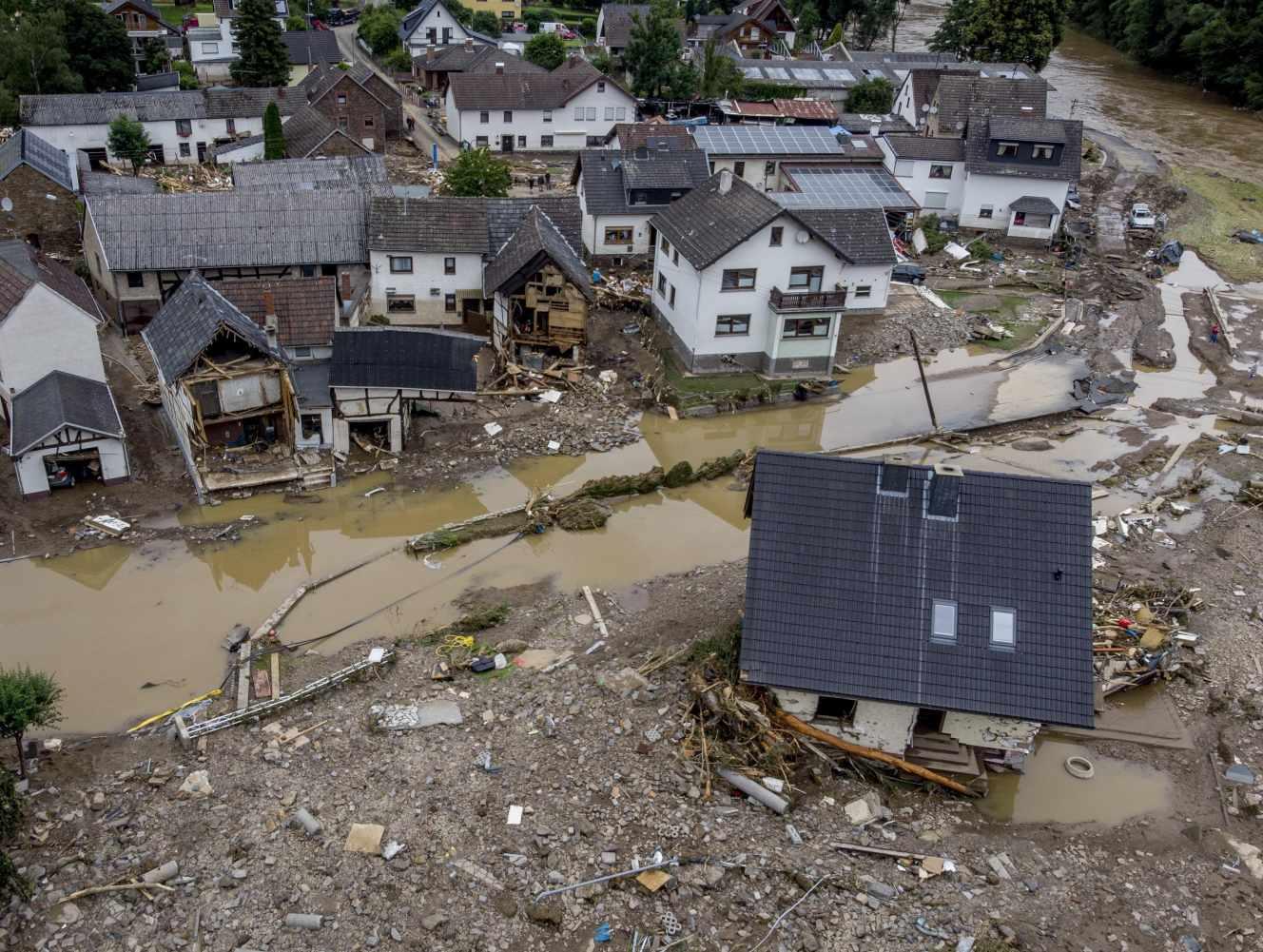 WWA-Etude : Le réchauffement climatique à l'origine des inondations en Allemagne et en Belgique