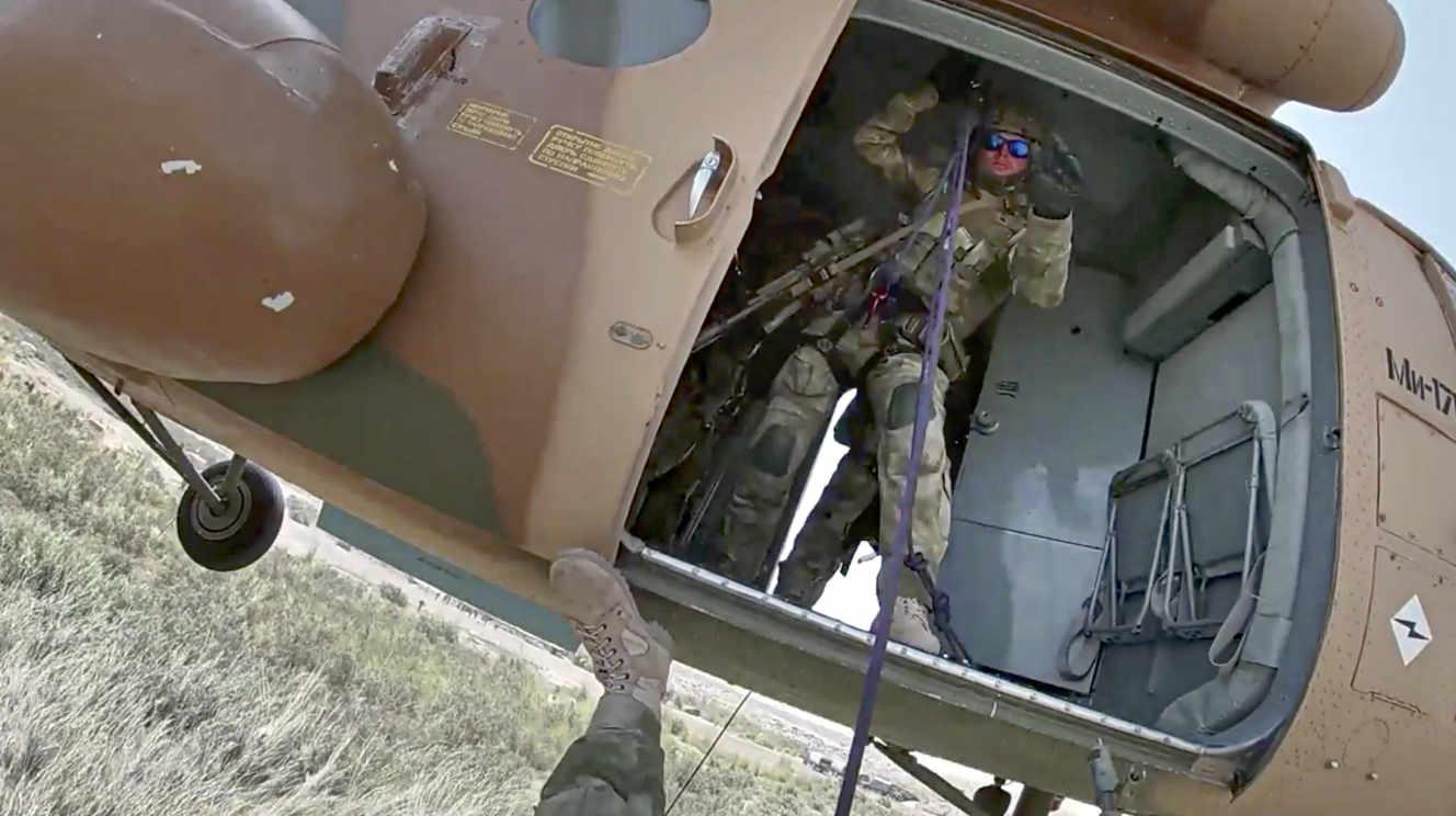 La Russie engagée dans des manœuvres militaires à la frontière avec l'Afghanistan