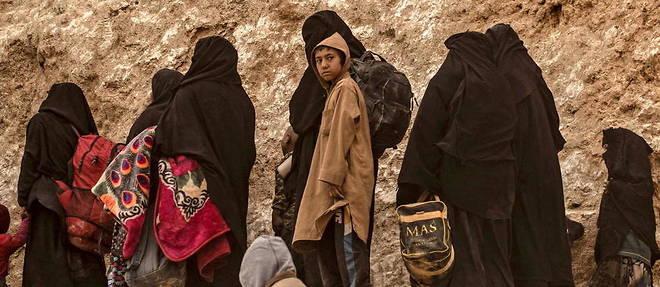 Onze femmes et 37 enfants allemands et danois rapatriés de Syrie