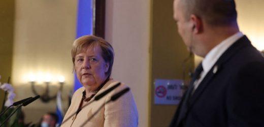 En tournée d'adieu, Angela Merkel assure Israël du soutien de l'Allemagne